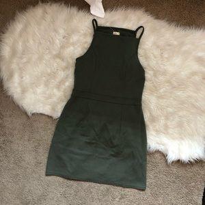 Hollister Dresses - Hollister Olive Green Bodycon Mini @kmart515